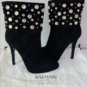 Giuseppe Zanotti / Balmain ankle boots